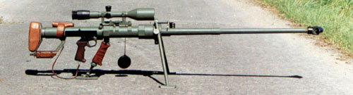 Hungarian-made Gepard M1 rifle