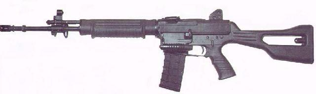 SR 88A is assault rifle manufactured in Singapore between 1990 and 2000