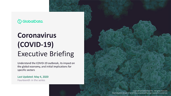 Covid-19 executive briefing report cover
